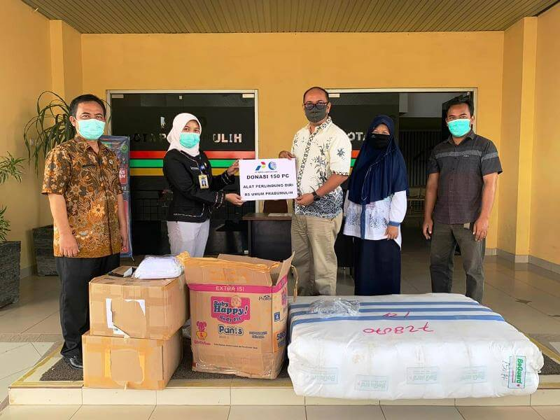Medical Personnel Assistance by PT. Perta Samtan Gas
