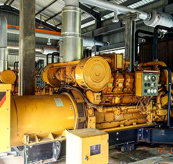 GAS ENGINE GENERATOR